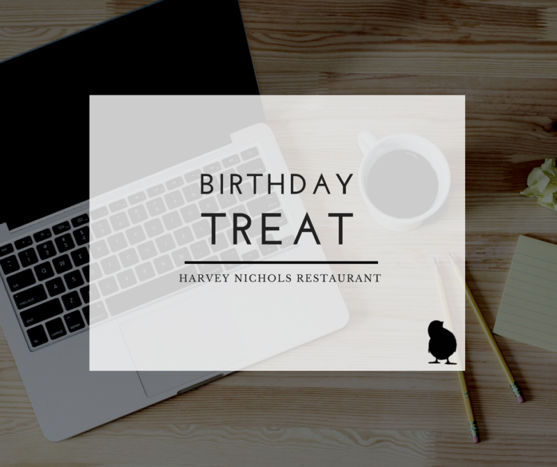 header image for Birthday treat at harvey nichols manchester