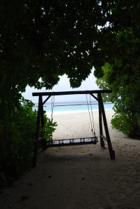 hidden swing on veligandu island maldives