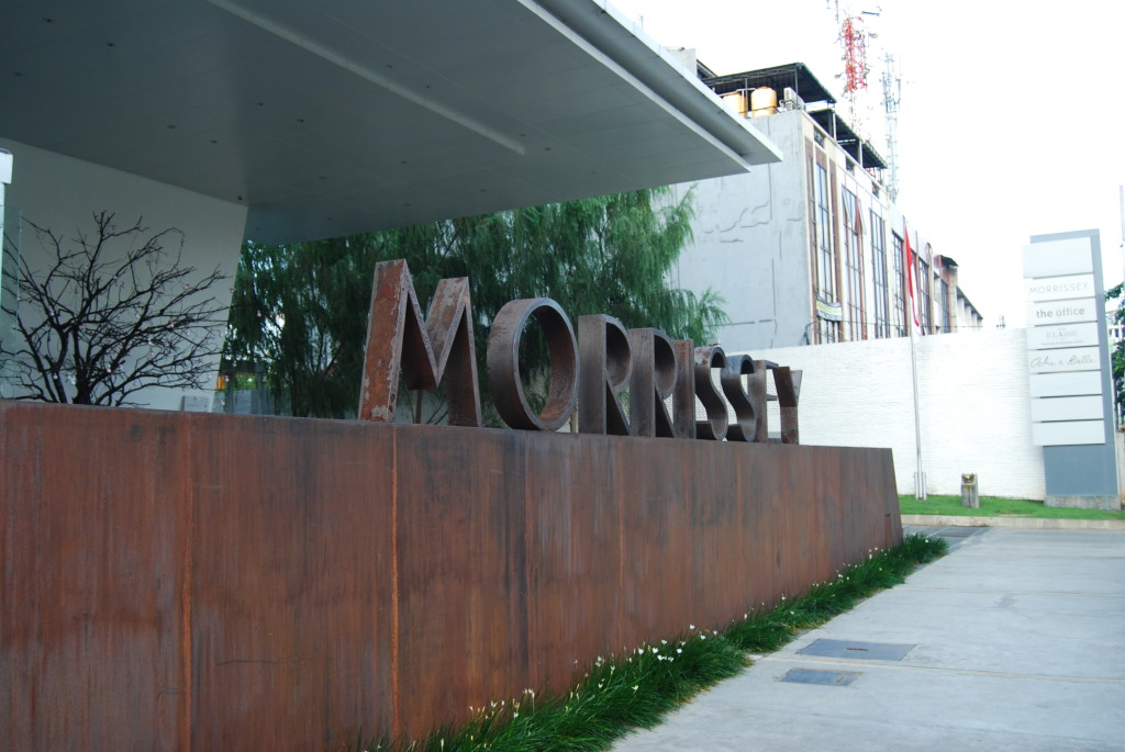 Morrissey Boutique Hotel, our home in Jakarta