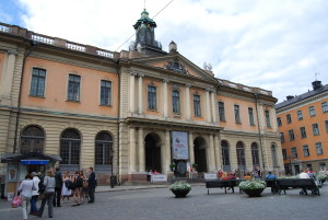 Nobel square stockholm sweden