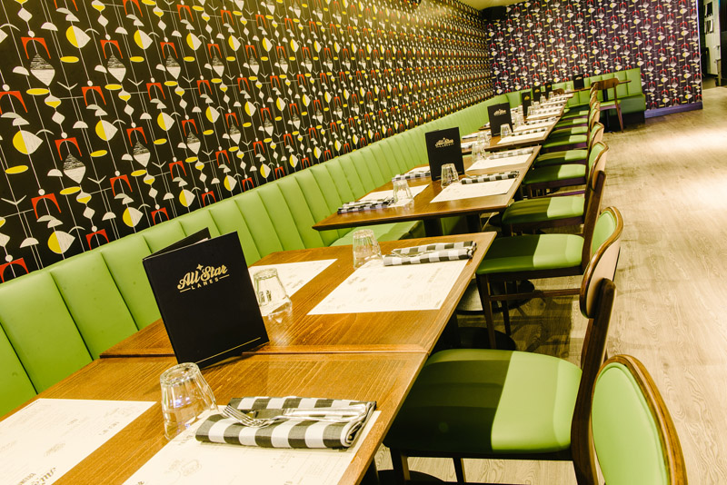 All Star Lanes Restaurant image taken from official website