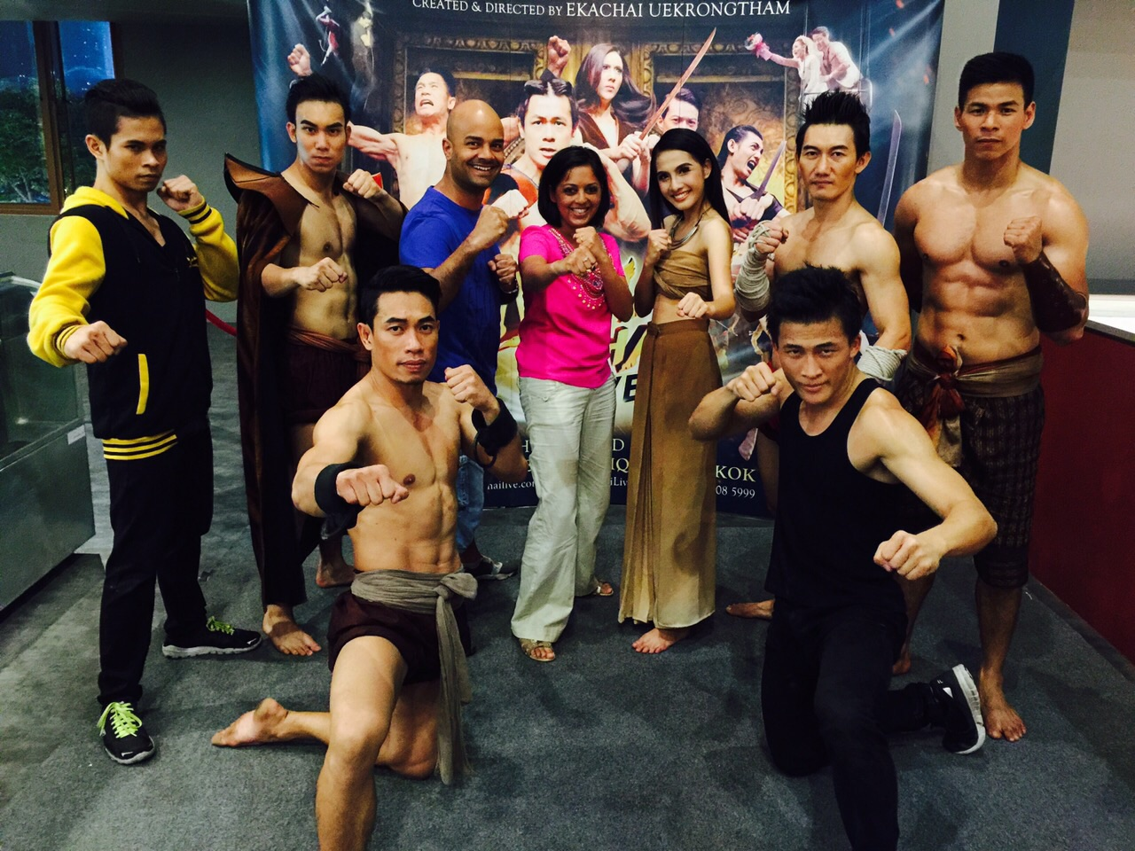 Muy Thai Live - Boxing Show at Asiatique, Bangkok, Thailand