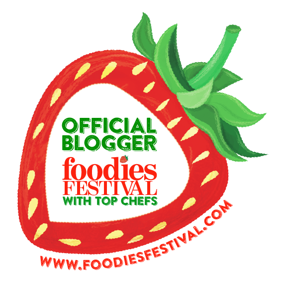 Blogger badge Foodies festival