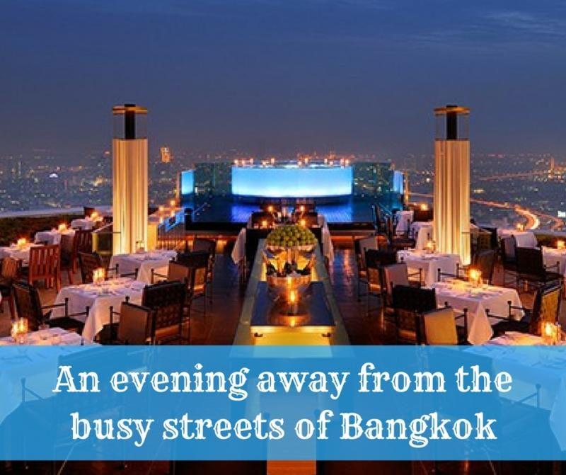 Lebua Bangkok review romantic evening