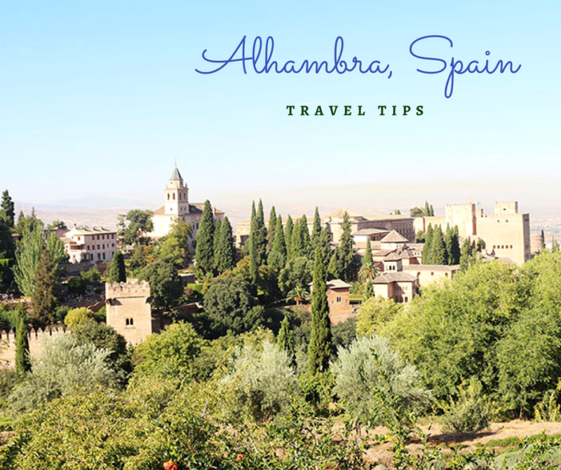 Alhambra Palace: A few tips for your trip