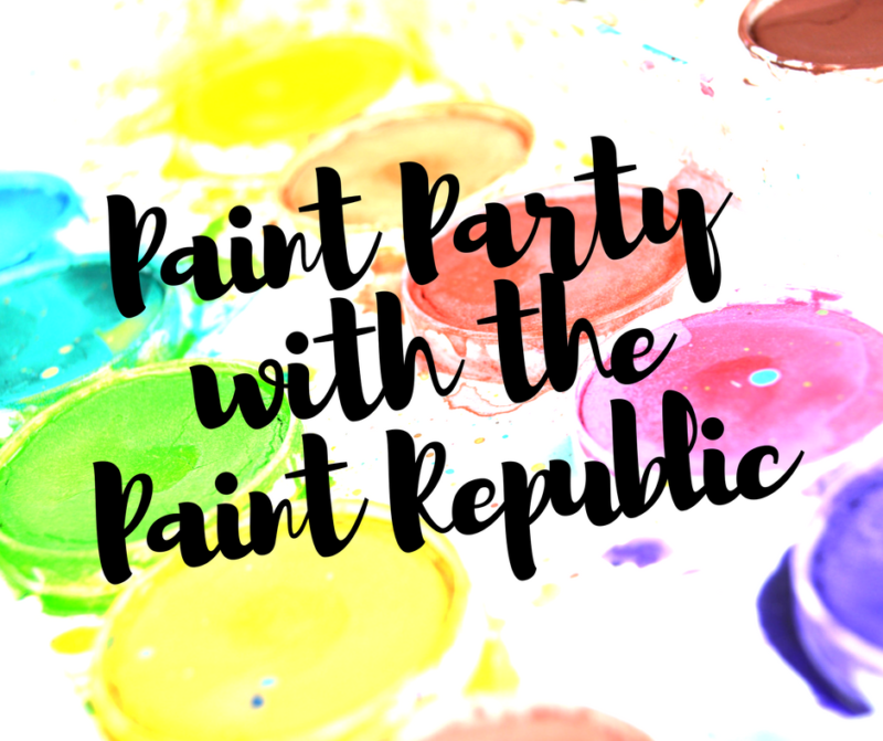 Paint Party with The Paint Republic