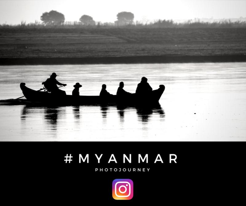 Myanmar Photo journey on Instagram