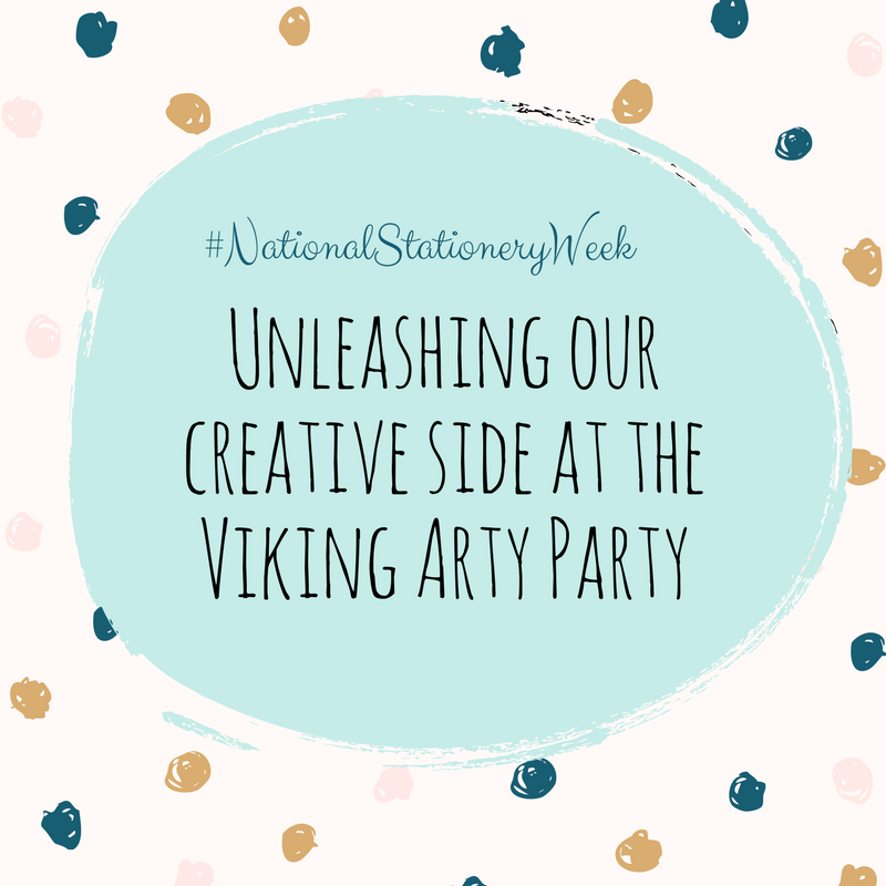Viking Stationery ArtyParty