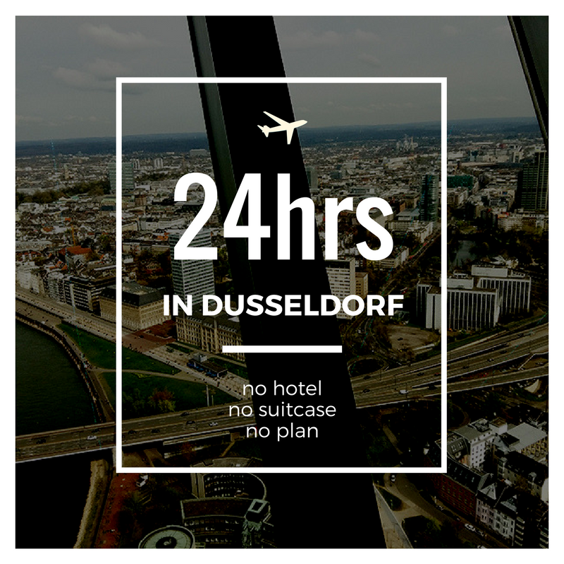 24hrs in Dusseldorf