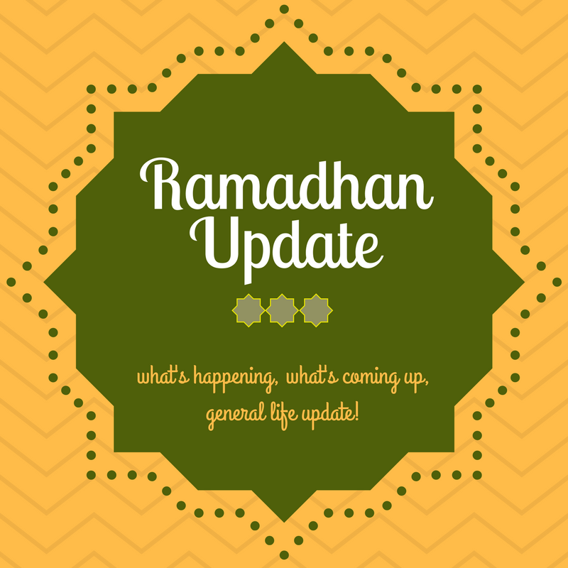 Ramadhan update: Halfway through