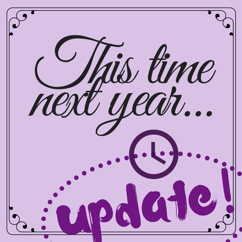 This time next year – Update