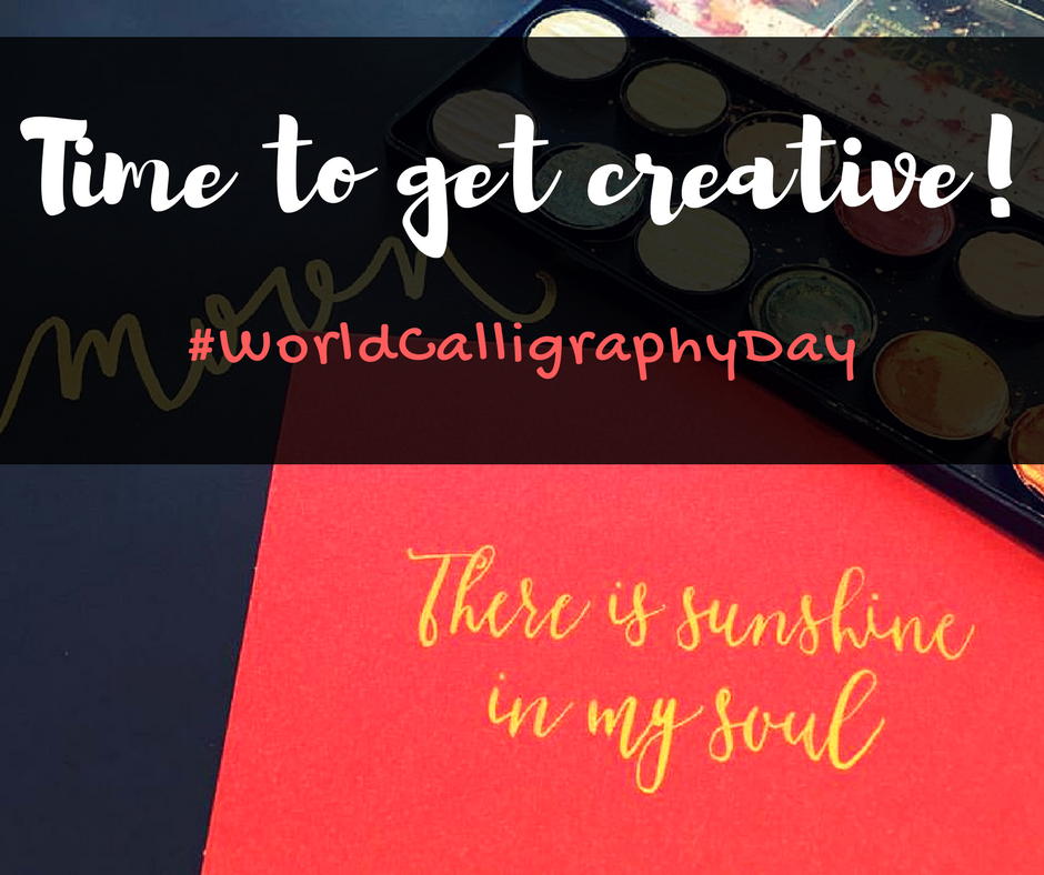 World Calligraphy Day: Let's Get Creative