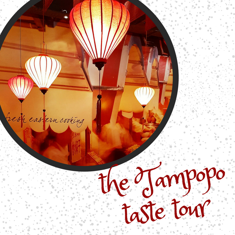 The Tampopo Pescatarian Taste Tour
