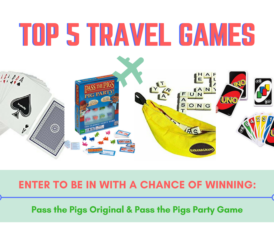 Top 5 travel games