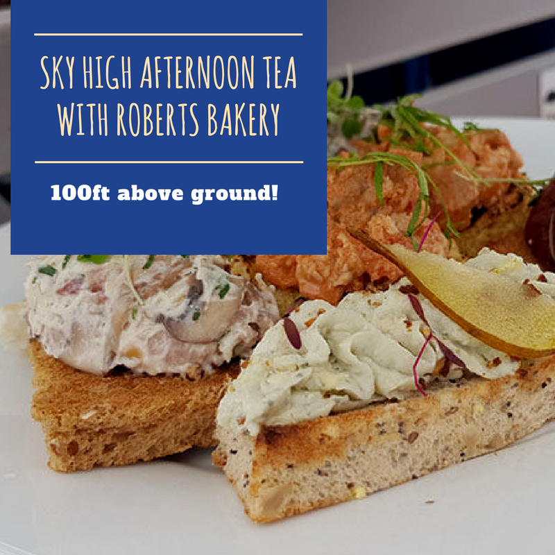 Sky High Afternoon Tea with Roberts Bakery