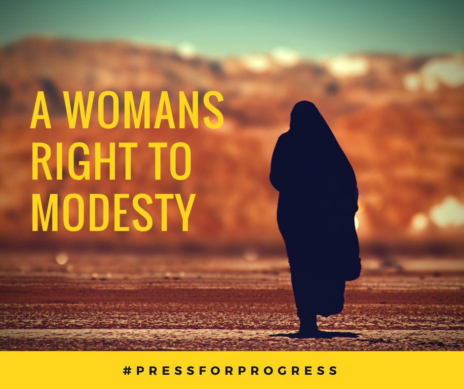 International Women's Day: A womans right to modesty