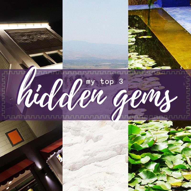 My top 3 hidden gems