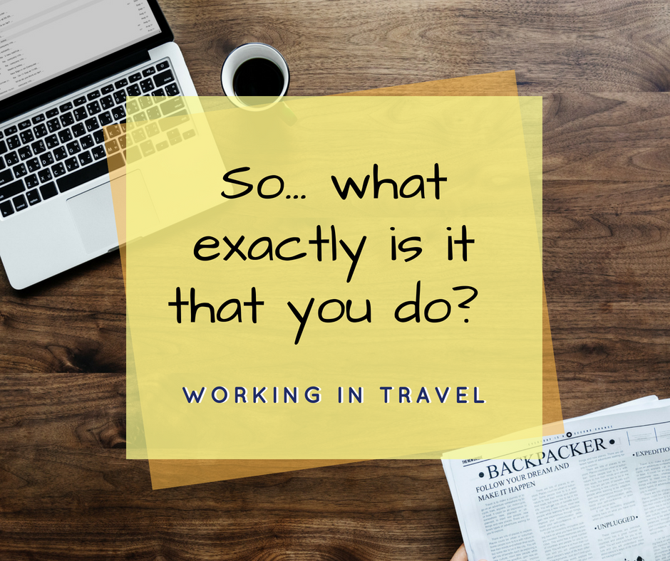 working in travel