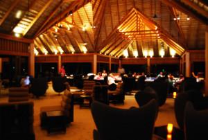 bar area at veligandu maldives