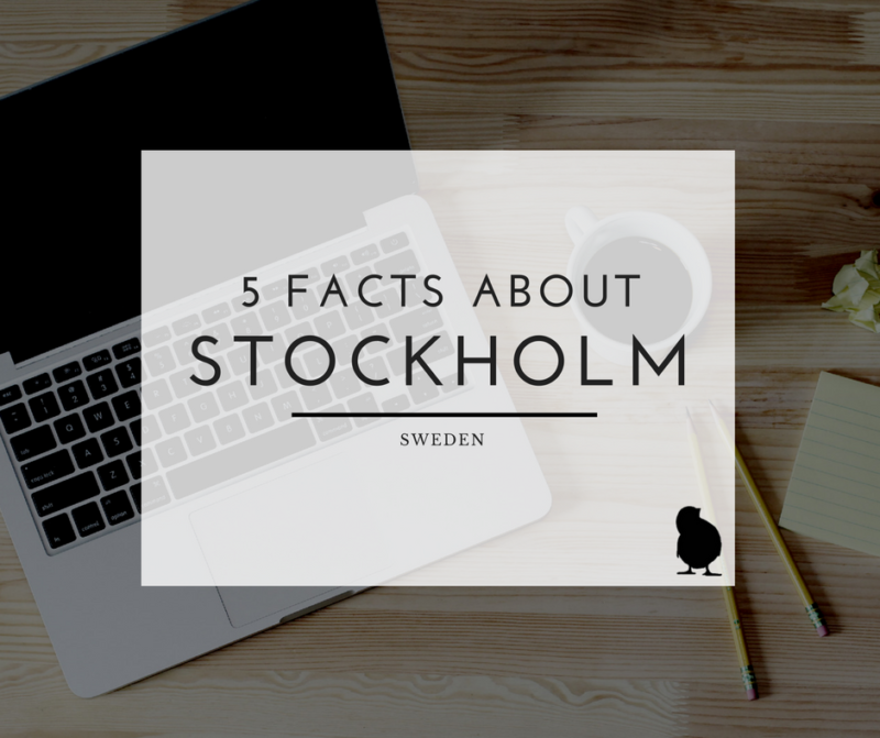 header image for 5 facts about stockholm