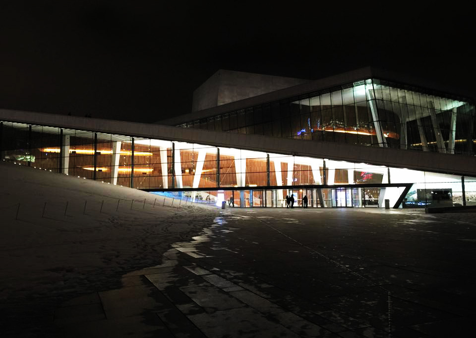 National Opera House Oslo – a beauty of a building