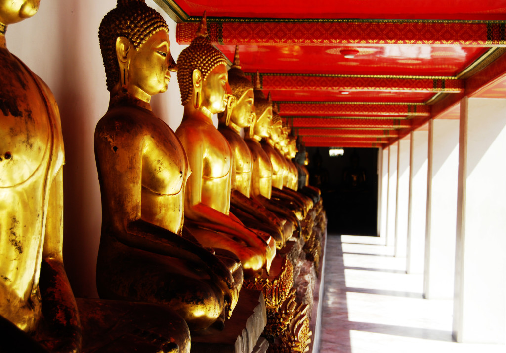 The Beautiful Temples of Bangkok, Thailand