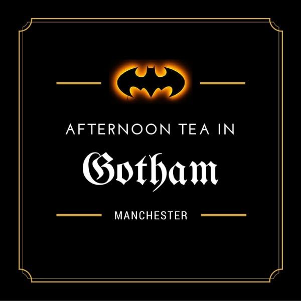 Gotham inspired Afternoon tea