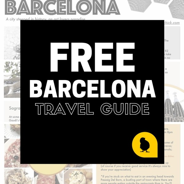 Free Barcelona Travel Guide