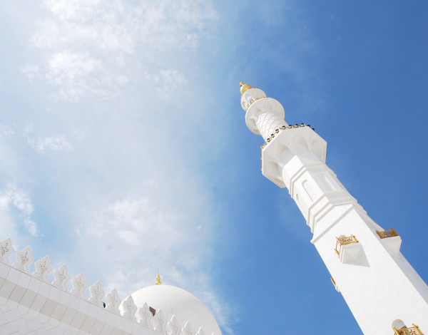 The Grandest mosque in the UAE