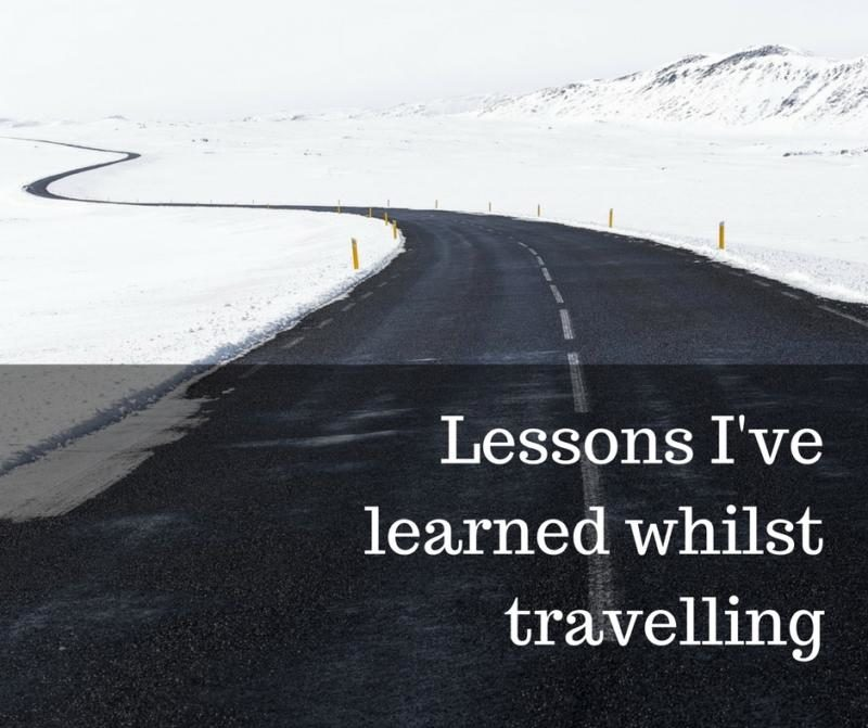 Travel linkup lessons I've learned whilst travelling