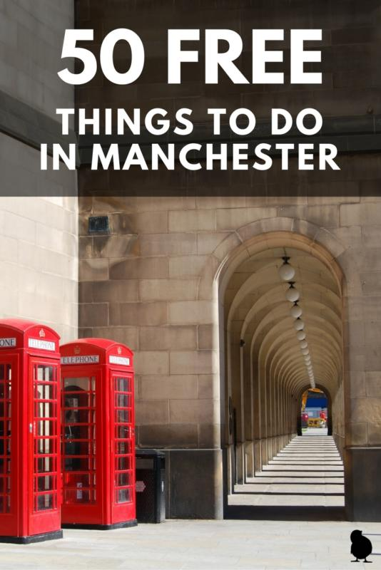 free things to do in Manchester
