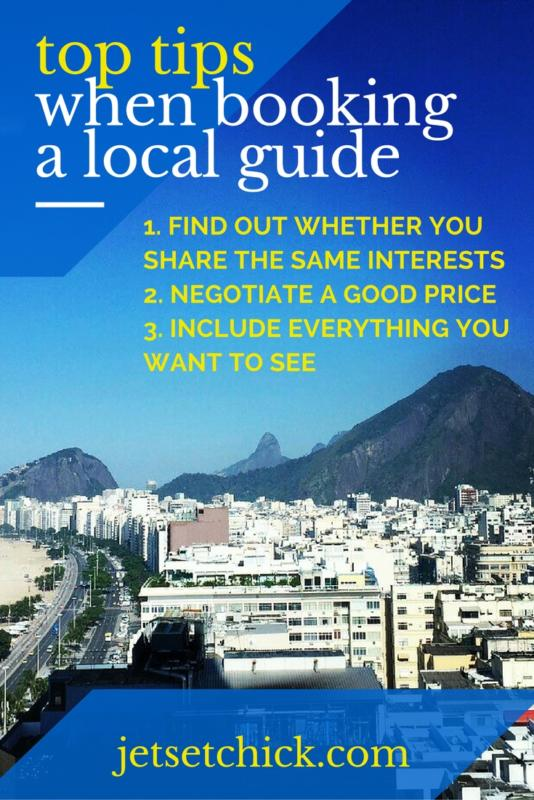 top tips for booking a local guide in Rio De Janeiro Brazil