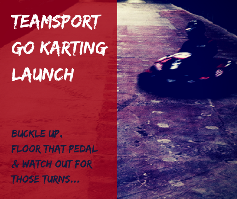 TeamSport Go Karting Manchester Launch