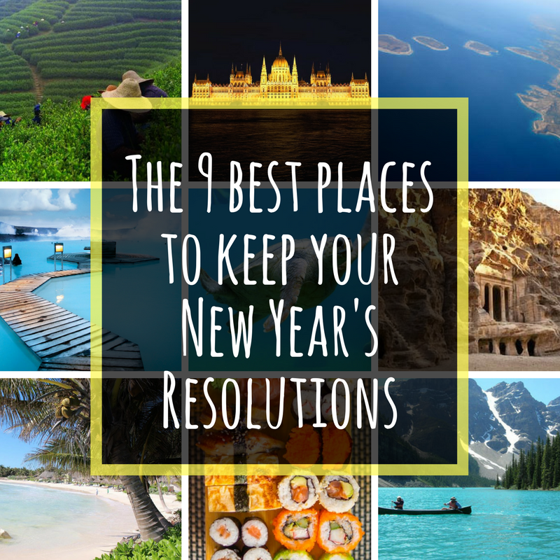 9 best places to keep your new year's resolutions