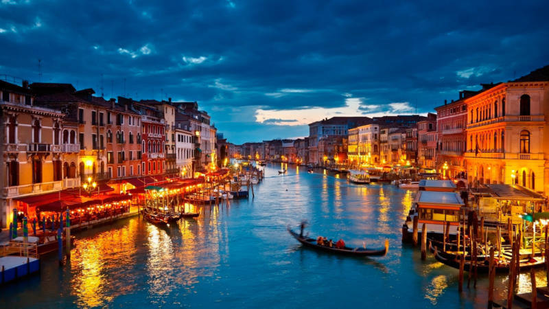 image of Italy, Venezia at sunset