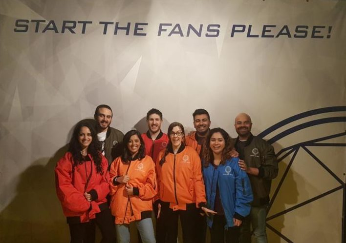 crystal maze manchester group picture