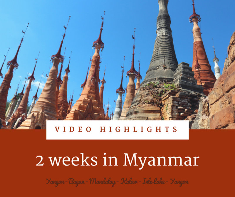 Video highlights of Myanmar