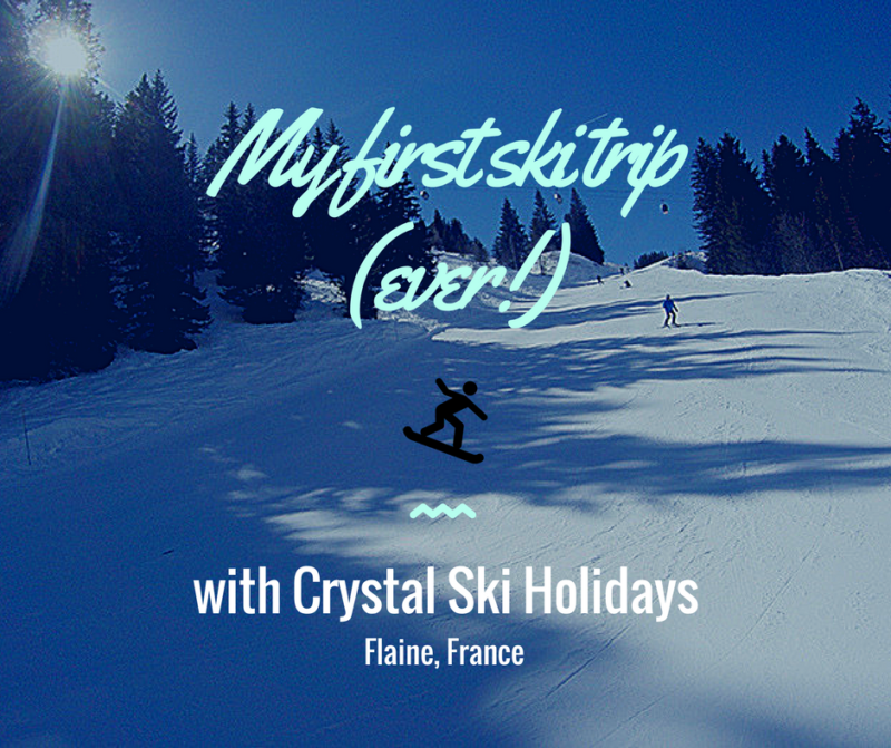 first ski trip with Crystal ski holidays