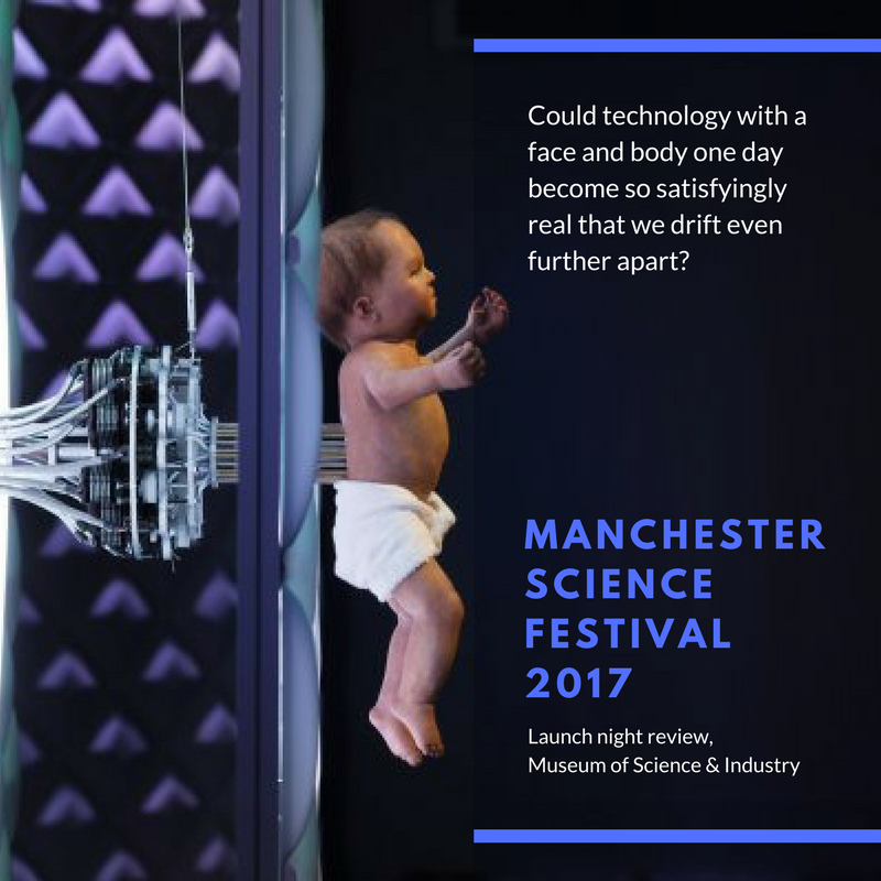 Manchester Science Festival 2017, Launch night