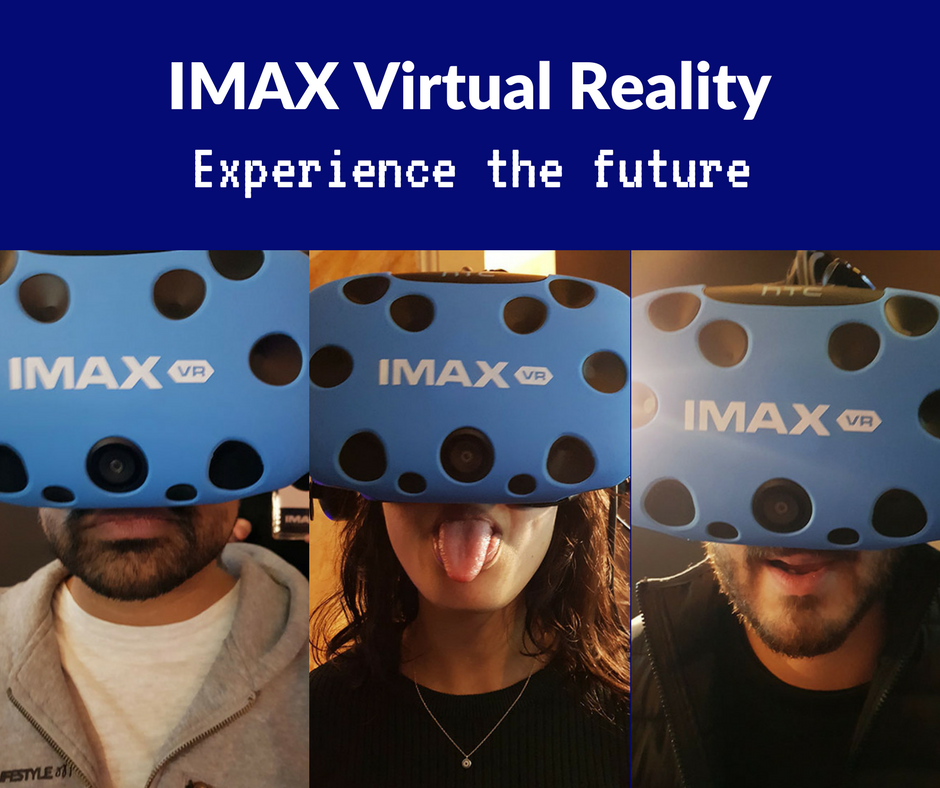 IMAX VR at intu Trafford Centre: An out of this world experience