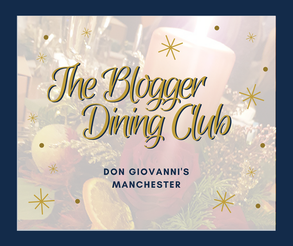 The Blogger Dining Club: Don Giovanni's, Manchester
