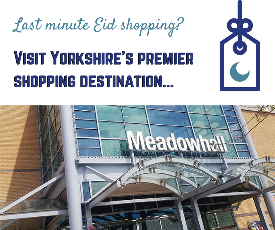 Eid at Meadowhall Sheffield