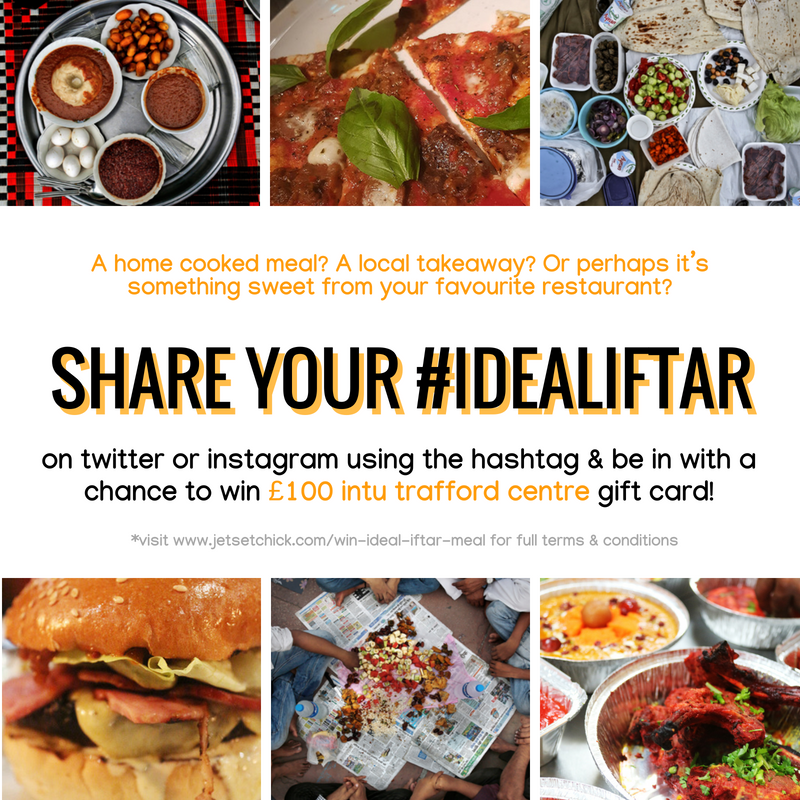 WIN £100 Gift Card: Share your ideal iftar